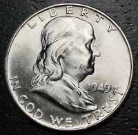 1949 D Franklin Half Dollar  --  MAKE US AN OFFER!  #R7565
