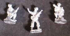 SHQ UM06C 1/76 Diecast WWII US Marines Officer, RTO, Signaller-no Helmet Covers