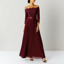 Coast Imi Merlot Bridesmaid Dress - Size 10