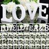 8/11cm A-Z Large White Wooden Letter Alphabet Name Wedding Home Decor Mr & Mrs
