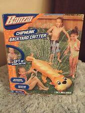 Banzai Chipmunk Backyard Critter Nib