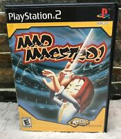 Mad Maestro! PS2 Sony Playstation 2 Game Used Tested Works