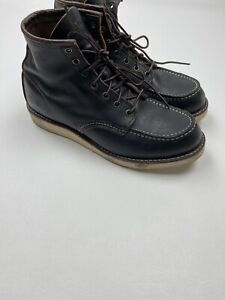 #375 Red Wing 8849 6 Inch Classic Moc Toe Boots Size 11 D  RETAIL $280