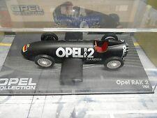 OPEL RAK2 RAK 2 Raketenfahrzeug Sander 1928 IXO Altaya 1:43