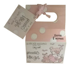 Precious Little Girl Baby Booties And Mittens Set Baby Shower Gift Box Pink