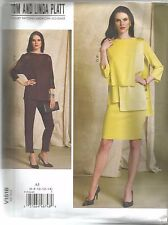 Vogue Sewing Pattern 1516 Tom Linda Platt Tops Skirt Pants 6- 14 Uncut