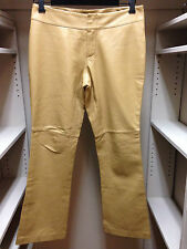 Old Navy Genuine Leather Camel Pants Size 2