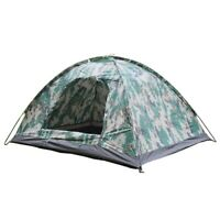 Camping Tent Spacious Heavy Duty Weather and Flame Resistant Outdoor Hiking B9C4