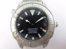 G0043 OMEGA Seamaster Professional 300m Automatic Date White Gold Bezel 2236.50