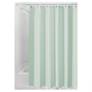 Quick Dry Shower Curtain Mould Seafoam Green Soft Fabric 183.0 x 183.0 cm