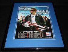 Dan Wheldon 2005 IndyCar Framed 11x14 ORIGINAL Advertisement