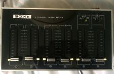 Sony 6 Channel Mixer MX 8