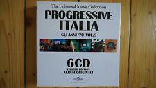 Progressive Italia Gli Anni 70 Vol.8 6 CD Box Set sehr selten rar