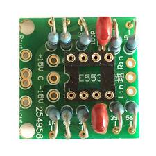Dual OP Amp Preamp DC Amplification Empty Board NE5532/OPA2134/OPA2604/AD826 ASS