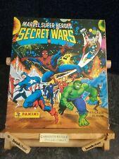 MARVEL SUPERHEROES SECRET WARS STICKER ALBUM - UNUSED/EMPTY - PANINI 1986 - VGC