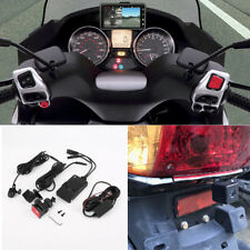 "3"" Inch Dual Motorcycle Camera Front+rear HD MP4 Video Recorder Waterproof 12V"