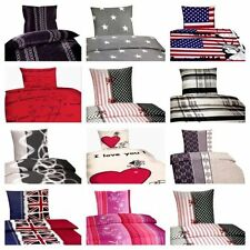 4-teilige Bettwäschegarnituren aus Polyester mit Bildmotiven