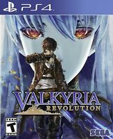 PLAYSTATION 4 PS4 GAME VALKYRIA REVOLUTION BRAND NEW AND SEALED