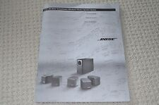 Bose Acoustimass 600 Home Theater System Instruction Manual