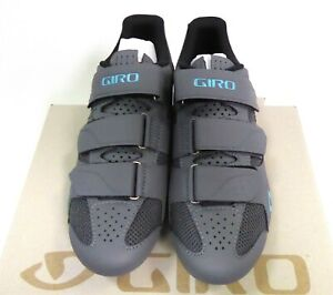 Giro Techne Womens Cycling Shoes Size 38 Titanium Glacier