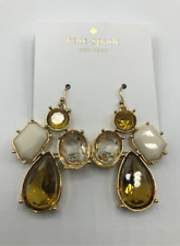Cut Drop Earrings Neutral/Multi! Nwt :) Kate Spade Earrings! Palace Gem Cushion
