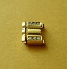 VACHERON CONSTANTIN PHIDIAS 18K YELLOW  GOLD WITH DIAMONDS WATCH LINK VERY RARE