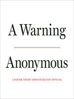 A WARNING BY ANONYMOUS HARDCOVER BRAND NEW