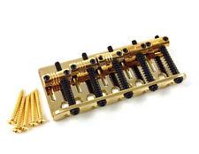 Genuine Fender Gold American Deluxe V 5-string P/Jazz Bass Bridge 005-8328-000