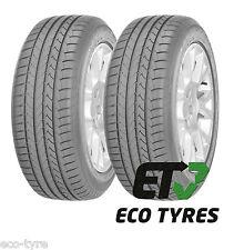 2X Tyres 225 45 R18 91Y GoodYear EfficientGrip RFT ROF Run Flat E B 69dB