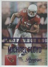 Michael Floyd 2015 Prestige Purple Extra Points Insert 28/100 Arizona Cardinals