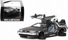 Coche DeLorean 2 Versión vuelo regreso al futuro II metal a la 1/43