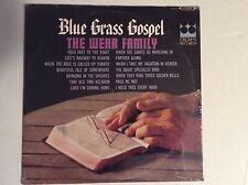 WEAR FAMILY - Blue Grass Gospel Vinyl LP Bluegrass Crown Records SEALED