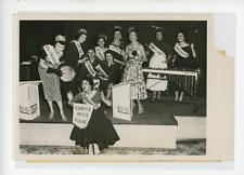 Election de Miss France 1954. Vintage silver print Tirage argentique  13x18