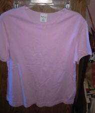 Westbound Solid Purple Top. Short Sleeve Pullover. Size Medium