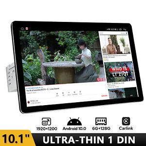 "10.1"" Single DIN 1200P Android 10.0 Car Radio GPS WIFI FM BT usbCarlink 6+128GB"