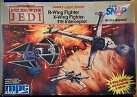 Star Wars Return of Jedi MPC Ertl Model TIE INTERCEPTOR ONLY 8931 NEW Unbuilt
