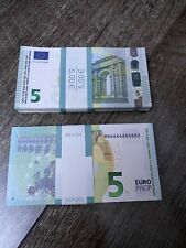 Billets 5 Euros Pour Film,Movie,Clips,Magie,Poker etc..