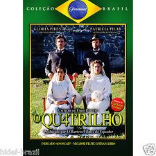 DVD O Quatrilho Q4trilho [ Fabio Barreto ] [ Brazilian Film ]