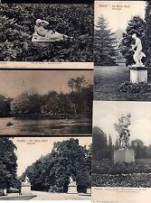 92575 9 AK Dresden Großer Garten Figuren Skulpturen um 1910