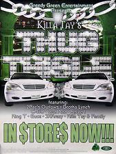 Killa Tay 2000 Thug Thisle Original Promo Poster