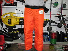 "chainsaw chaps safety pants size 36"" brand new"
