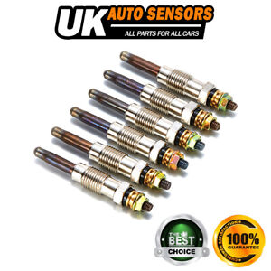 6X DIESEL HEATER GLOW PLUGS FOR BMW 3 5 7 SERIES LAND ROVER MERCEDES VAUXHALL