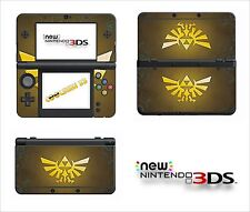 SKIN STICKER AUTOCOLLANT - NINTENDO NEW 3DS - REF 156 ZELDA