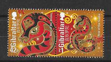 Gibraltar 2013 Year of The Snake   MNH