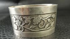 Antique ART DECO FRENCH Silver plate  Napkins holder SIGNED