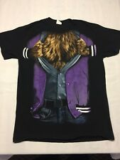 Teen wolf Medium Black T-shirt High School Halloween Costume Movie TV Show