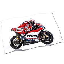 "Andrea Dovizioso Flag Banner 30"" NEW Ducati 4 MotoGP Motor Driver Fabric Poster"