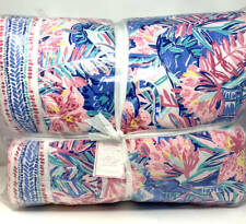 New ListingNew~Pottery Barn Lilly Pulitzer Slathouse Soiree Patchwork Quilt~Full Queen