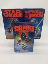 More details for star wars hardback book trilogy by george lucas james kahn donald f glut 1990s