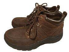 SKECHERS Relaxed Fit Holdren Lender 64789 Ankle Hiking Comfort Boots Men's 9.5 M